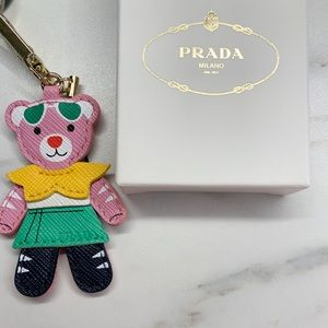 BNIB Bear Keychain from Prada